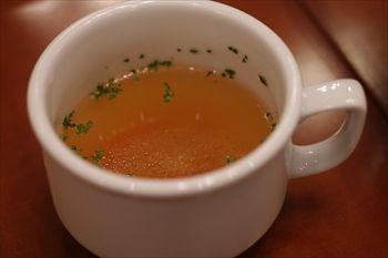 新横浜にある「ウォーターフォールカフェ」のスープ