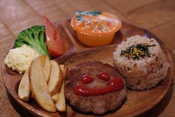 横浜みなとみらいの「マノ・キッチンカフェ」のランチ