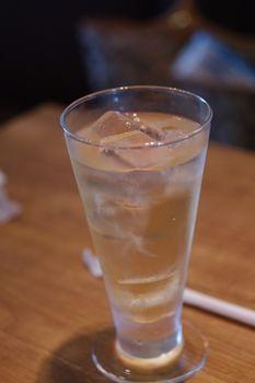 横浜青葉台にある「ハンバーグファクトリー」のジュース