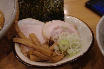 横浜綱島にあるラーメン店「笑歩」のつけ麺