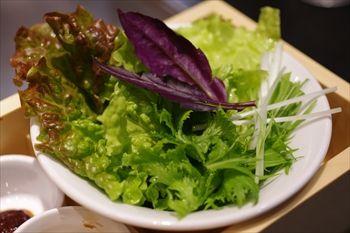 川崎武蔵小杉にあるお好み焼き屋「ぎゅんた」の野菜