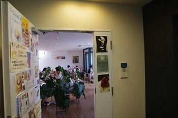 横浜元町・中華街にあるカフェ「雪ノ下」の入り口
