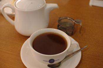 横浜あざみ野にあるカフェ「プチゾウ(Petit Zou)」の紅茶