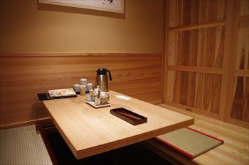 新横浜にあるもつ鍋店「やまや」の店内