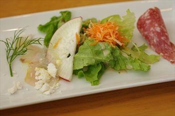 新横浜にあるイタリアン「アマルフィイ ノッベロ」の前菜