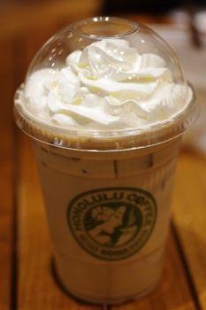横浜みなとみらいにある「ホノルルコーヒー」のコーヒー