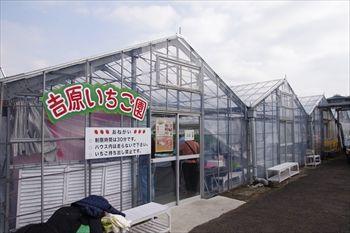 横浜戸塚にある吉原いちご園の外観