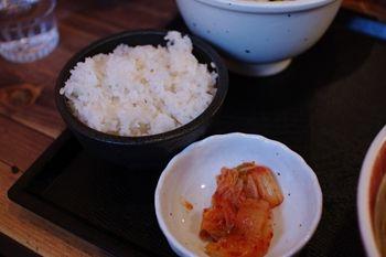 横浜金沢文庫にあるつけ麺店「吉田製麺店」のライス