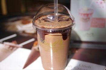 横浜にあるチョコレート専門店「リンツ」のチョコレートドリンク