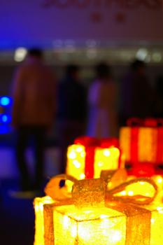 横浜ランドマークタワー スカイガーデンのクリスマスオブジェ4