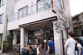 東神奈川にあるラーメン店「らぁめん 夢」の外観