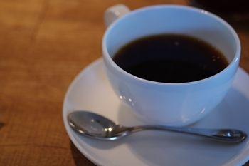 横浜青葉台にある「ハンバーグファクトリー」のコーヒー