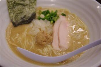 横浜大倉山にあるラーメン店「麺屋 ゆるり。」のラーメン