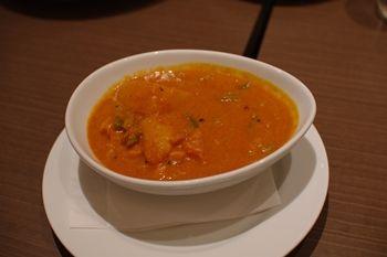 キュービックプラザ新横浜の「インド料理 マハラジャ」のカレー