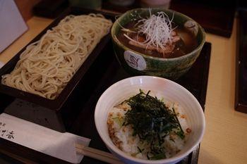 横浜菊名にある蕎麦屋さん「鴨屋 そば香」の蕎麦
