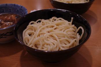 新横浜ラーメン博物館のつけ麺屋「頑者」のつけ麺