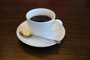 横浜センター北のカフェ「クロッシーズカフェ」のコーヒー