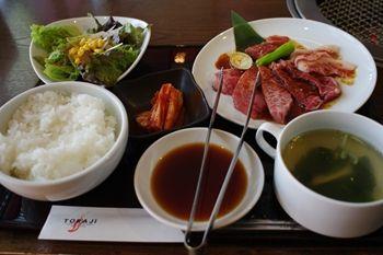 新横浜にある焼肉屋さん「焼肉トラジ」の焼肉ランチ