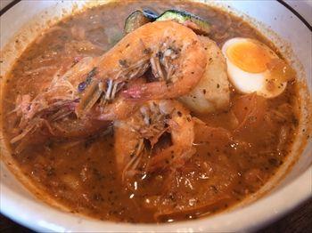 横浜綱島にあるスープカレーのお店「らっきょ&Star」のスープカレー