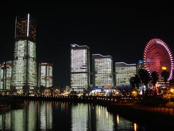 横浜みなとみらいの全点灯イベント2006