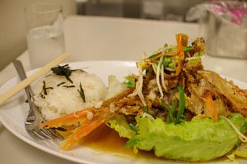 「横浜・神奈川グルメフェスティバル」のくろば亭の金目鯛