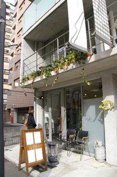横浜元町「モトヤパンケーキリストランテ」の外観