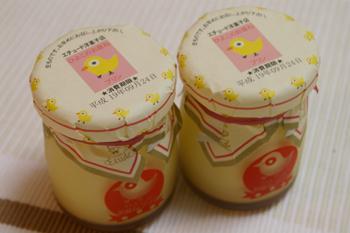 そごう横浜店「北海道の物産と観光展」で買ったプリン
