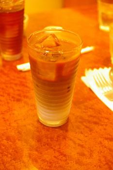 横浜元町のおいしいパスタ屋さん「J PASTA」のカフェオレ