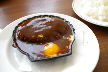 洋食キムラ新横浜店のハンバーグステーキ
