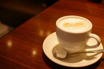 クイーンズスクエア横浜のニューヨークグランドキッチンのコーヒー