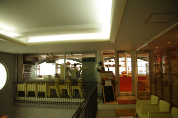 横浜元町のパン屋「ラール&ブーランジェリー レ・サンス」の外観