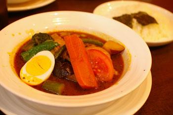 横浜地下街ダイヤモンドの「スープカレー 心」のスープカレー