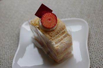 横浜上永谷にある洋菓子店「ストラスブール」のケーキ
