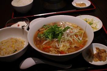 新横浜にある中華料理屋さん「EURO CHINA ミンミン」のランチ