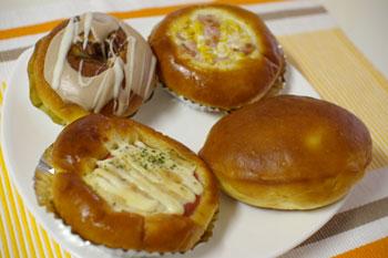 横浜岸根公園のパン屋「ぱんくらぶ」のパン