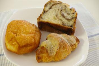 横浜タカシマヤ「全国うまいもの博」で購入したパン