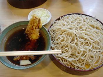 横浜のお蕎麦屋さん角平のつけ天