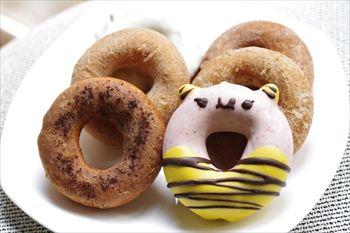 横浜大倉山にあるドーナツ専門店「フロレスタ」のドーナツ