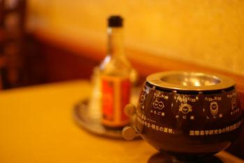 横浜伊勢佐木町の老舗洋食屋「グリル桃山」の店内