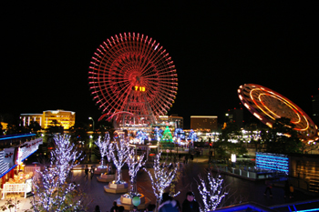 クイーンズスクエア横浜からの夜景