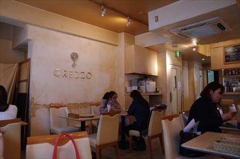 横浜関内にあるイタリアン「オレッツォ(OREZZO)」の店内