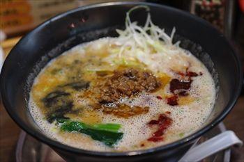 新横浜にある新横浜ラーメン博物館の「麺の坊 砦」のラーメン
