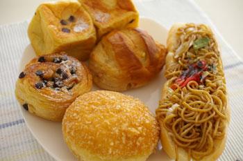 横浜港北にあるおいしいパン屋さん「パン工房うらら」のパン