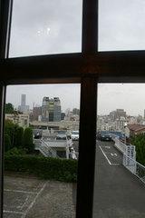横浜山手の喫茶店「エレーナ」からの景色