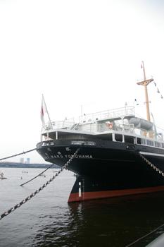 横浜山下公園の氷川丸