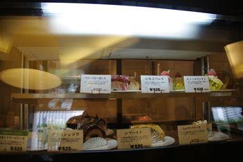 横浜美術館にあるカフェ「Cafe 小倉山」の店内
