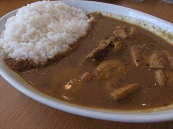 横浜にあるカレー専門店「カリフェ」のインド風チキンカレー