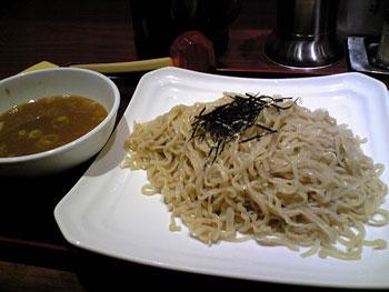 新横浜にあるラーメン店「「らーめん 点心 鐵匠」」のつけ麺