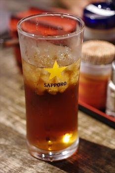 川崎にある九州ラーメンのお店「暖暮」の黒ウーロン茶