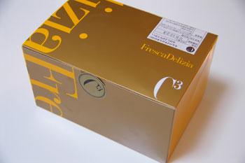 横浜そごうのケーキショップ「シーキューブ」の箱